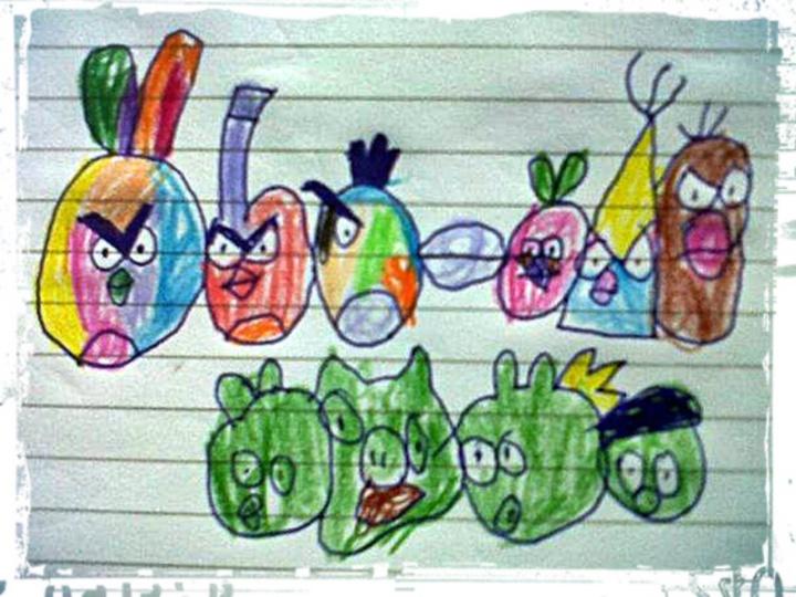Angry Birds Rainbow ^^